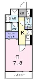 シューフルール2階Fの間取り画像