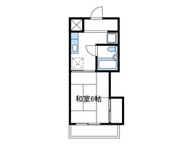富安ビル3階Fの間取り画像