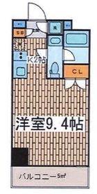Premium Residence Kawasaki8階Fの間取り画像