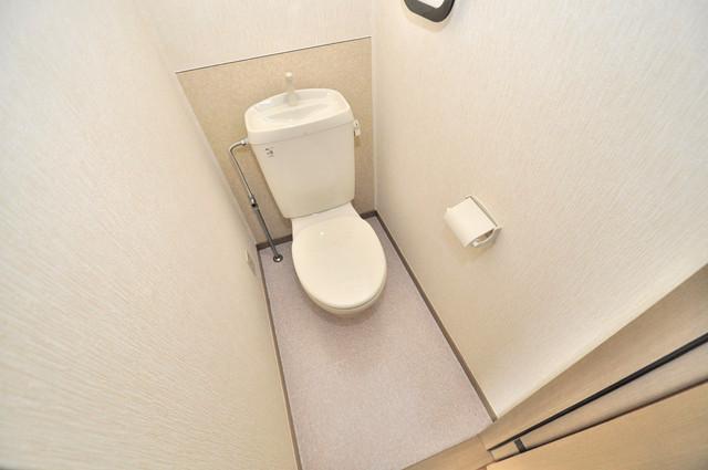 サンビレッジ・デグチⅡ 清潔感のある爽やかなトイレ。誰もがリラックスできる空間です。