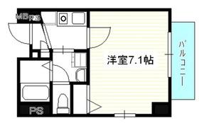 スプリーム月島21階Fの間取り画像