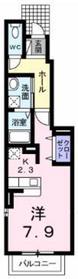 プラシード211階Fの間取り画像