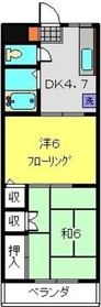 菊名駅 徒歩25分1階Fの間取り画像