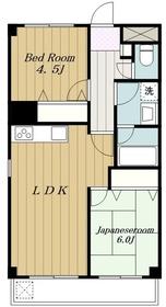 愛甲石田駅 徒歩10分2階Fの間取り画像