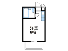 チェルシーホーム2階Fの間取り画像