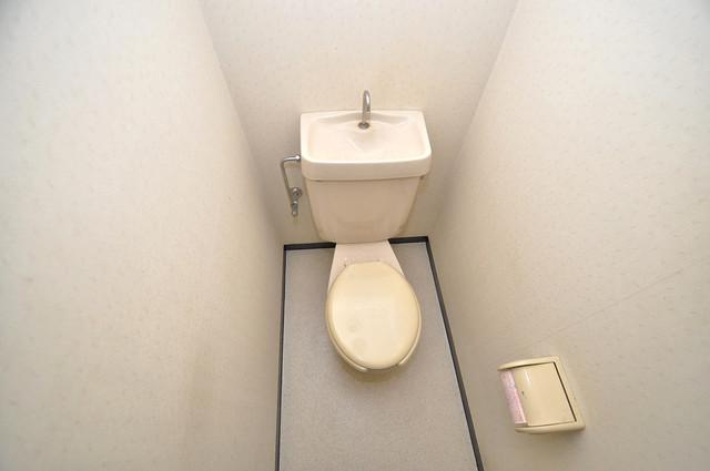 新深江ツリガミビルパートⅠ 清潔感のある爽やかなトイレ。誰もがリラックスできる空間です。