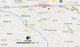 荻窪駅 徒歩9分案内図