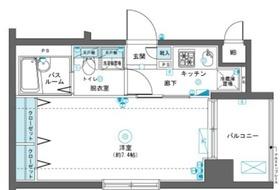 フェニックス横濱吉野町6階Fの間取り画像