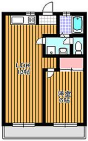 成増駅 徒歩2分4階Fの間取り画像