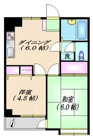 エミネンス用賀4階Fの間取り画像