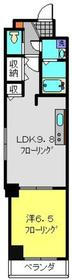 メゾンドゥファミーユ4階Fの間取り画像
