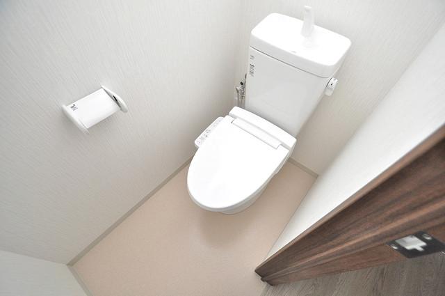 エム・ステージ小路 清潔感のある爽やかなトイレ。誰もがリラックスできる空間です。