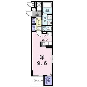 コンティネント3階Fの間取り画像