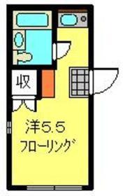 日吉駅 徒歩10分3階Fの間取り画像