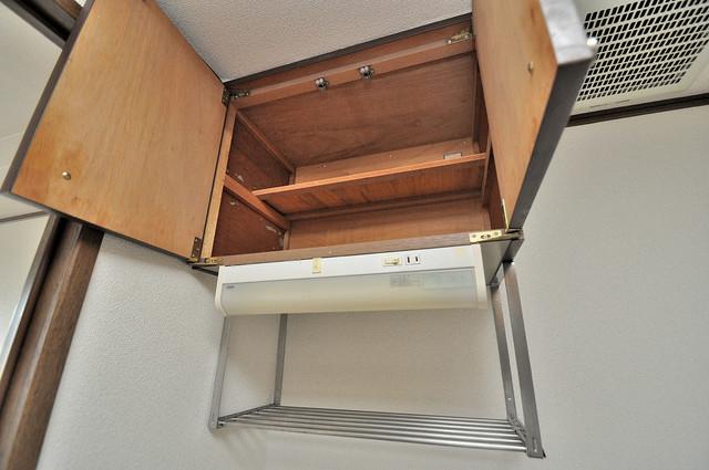 高井田ル・グラン 吊り戸棚付きで収納力バツグンです。