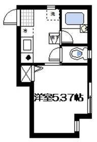 武蔵小杉駅 徒歩16分1階Fの間取り画像