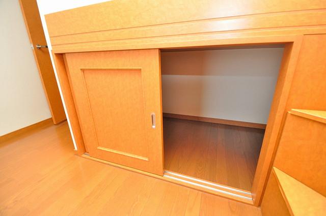 レオパレススズラン もちろん収納スペースも確保。いたれりつくせりのお部屋です。
