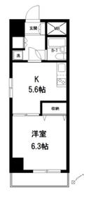 東長崎ヒルズ9階Fの間取り画像