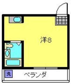 ビケンアーバンス5階Fの間取り画像