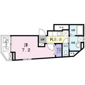 フランメゾン2階Fの間取り画像