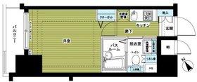 トーシンフェニックス新横濱イクシール4階Fの間取り画像