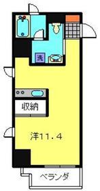 EINHAUS4階Fの間取り画像