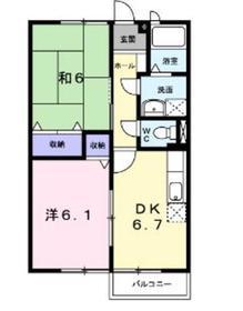 海老名駅 徒歩17分2階Fの間取り画像