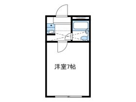 ビューパレス湘南伊勢原Ⅰ1階Fの間取り画像