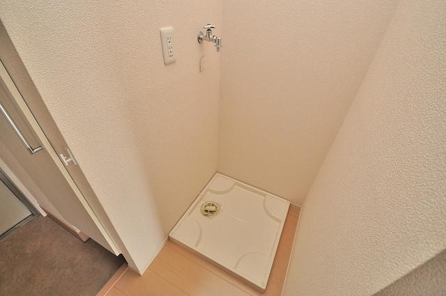 エクレール上小阪 室内に洗濯機置き場があれば雨の日でも安心ですね。