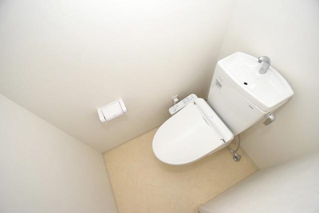 Cherry  白くてピカピカのトイレですね。癒しの空間になりそう。