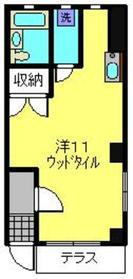 元住吉駅 徒歩2分1階Fの間取り画像