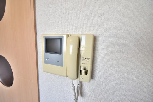 セレブ西上小阪 TVモニターホンは必須ですね。扉は誰か確認してから開けて下さいね