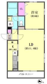 アムールオオモリシーサイド 103号室