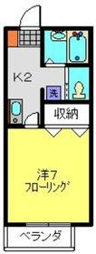 エルム新横浜2階Fの間取り画像