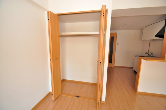 セレンディピティO・V もちろん収納スペースも確保。いたれりつくせりのお部屋です。