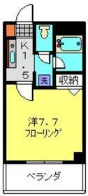 センペル日吉1階Fの間取り画像