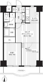 錦糸パーク・ヤマト3階Fの間取り画像