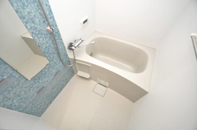 ラモーナ巽北Ⅱ 広めのお風呂は一日の疲れを癒してくれます。
