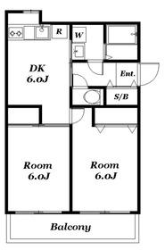 ローズマンション3階Fの間取り画像