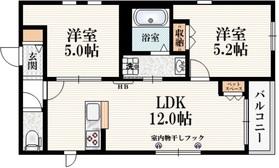 田無駅 徒歩15分3階Fの間取り画像