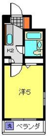 エバーグレース子安3階Fの間取り画像