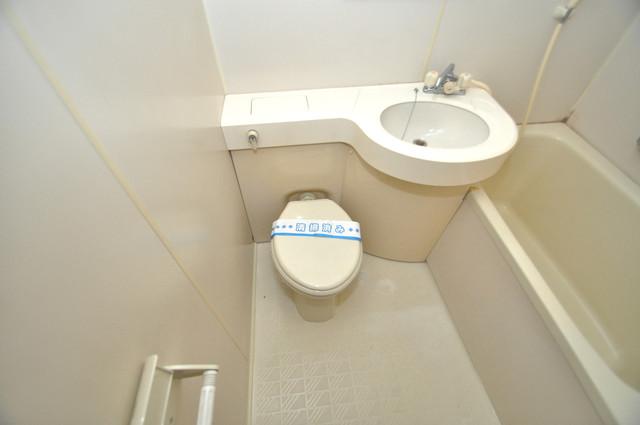 グリーンハウス お風呂・トイレが一緒なのでお部屋が広く使えますね。