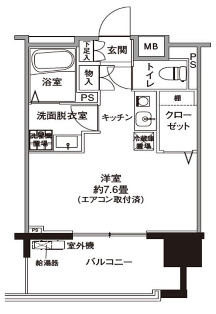 ヒルサイド横浜十日市場 間取り図