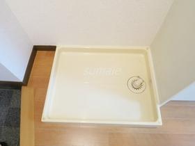 室内洗濯機き場です!!