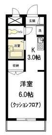 エクセル巣鴨3階Fの間取り画像