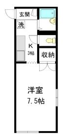 斉藤邸1階Fの間取り画像