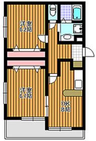 和光市駅 徒歩12分1階Fの間取り画像