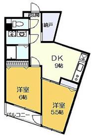 レフォール登戸3階Fの間取り画像