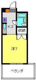 プレシアセイショウ4階Fの間取り画像