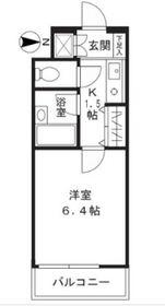 武蔵新城駅 徒歩6分1階Fの間取り画像